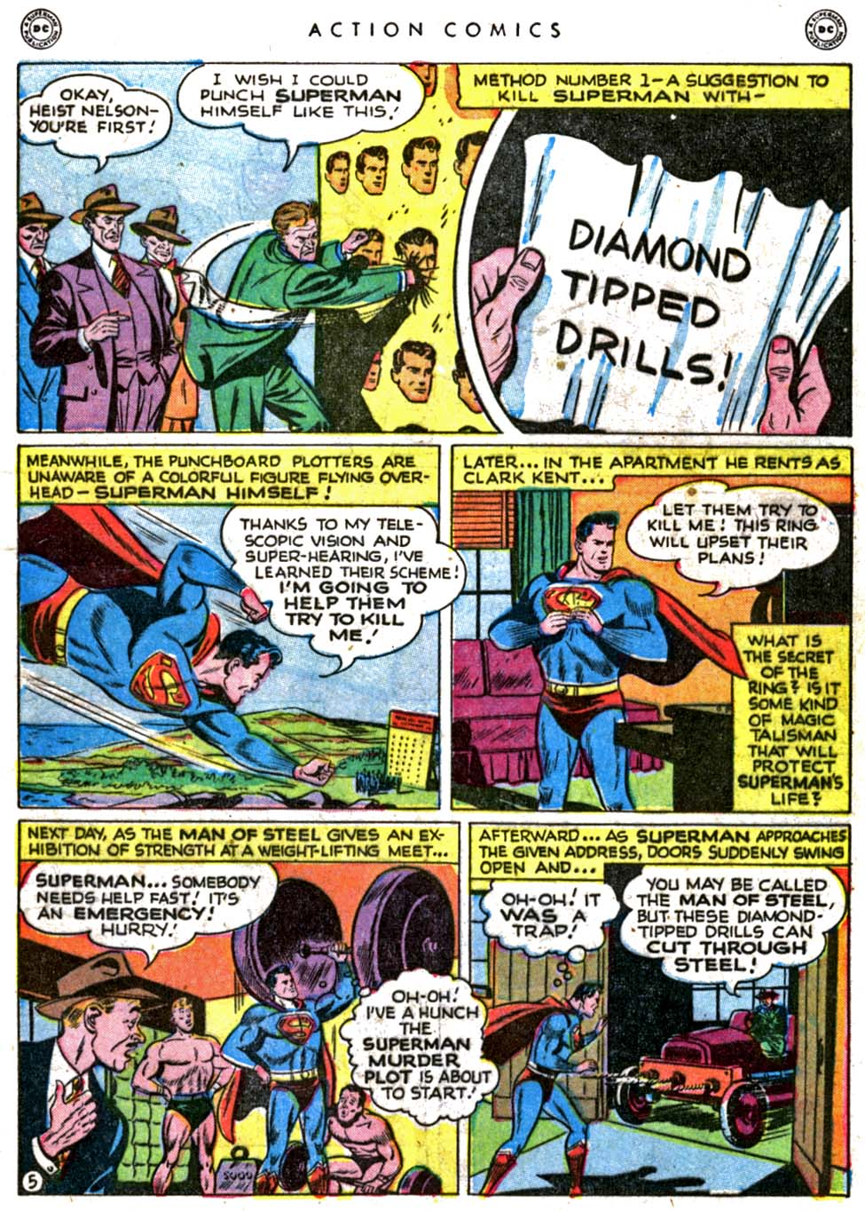 Read online Action Comics (1938) comic -  Issue #123 - 7