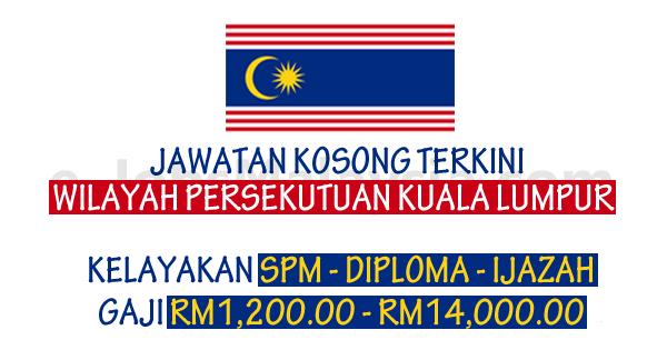 Pengambilan Jawatan Kosong Terbuka Di Wilayah Persekutuan Kuala Lumpur