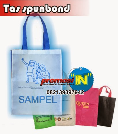 Tas Spunbond, Tas Souvenir, Tas Seminar Sablon, Tas Pameran, Goodie Bag