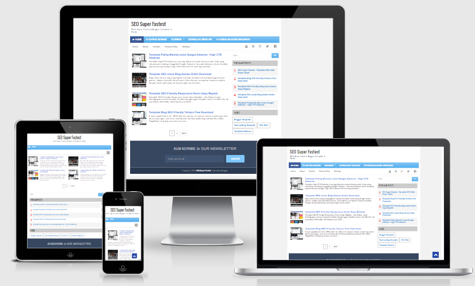 Template Seo Friendly Responsive Image collections - template design ...