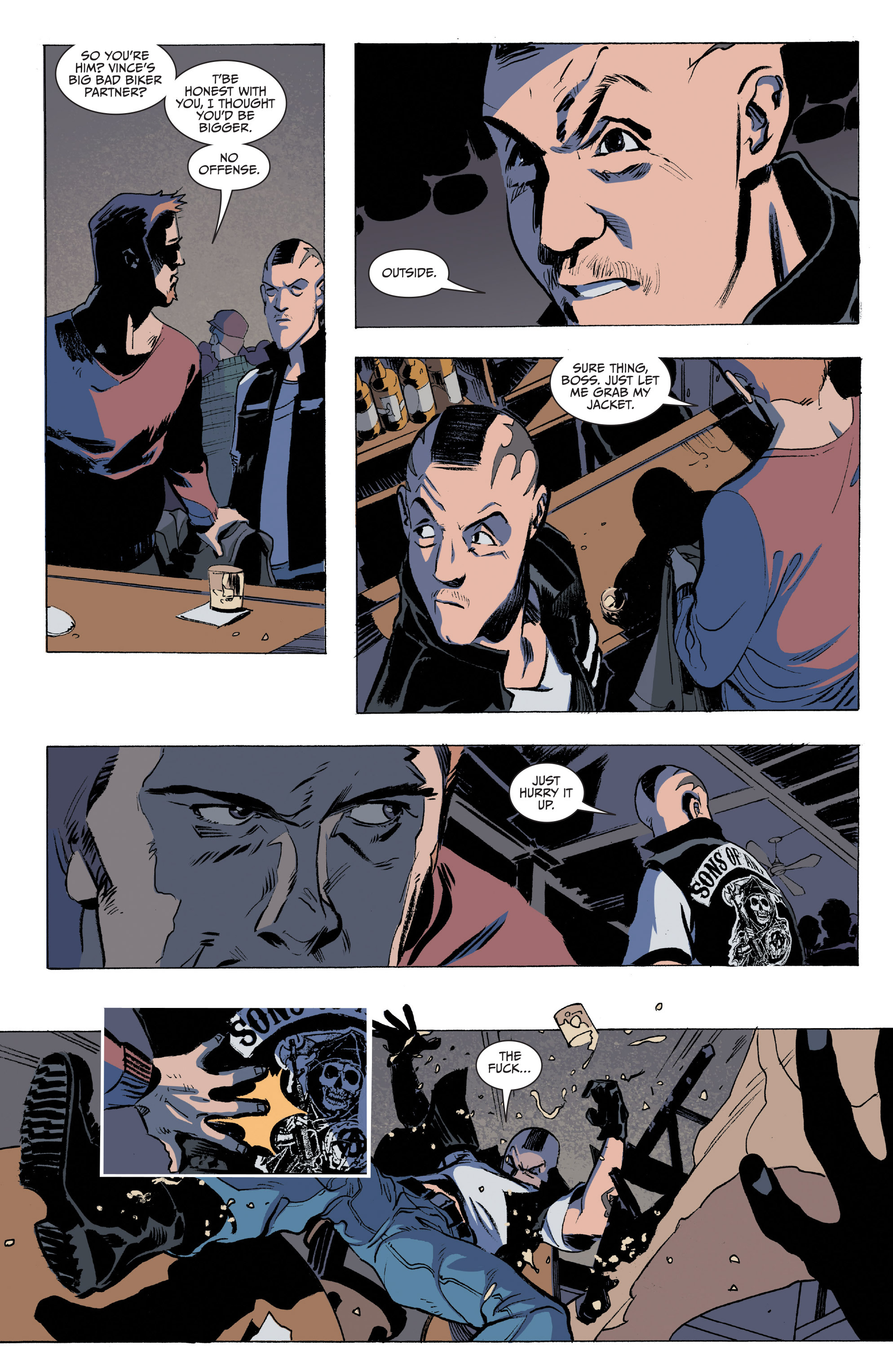 Read online Sons of Anarchy comic -  Issue #16 - 10