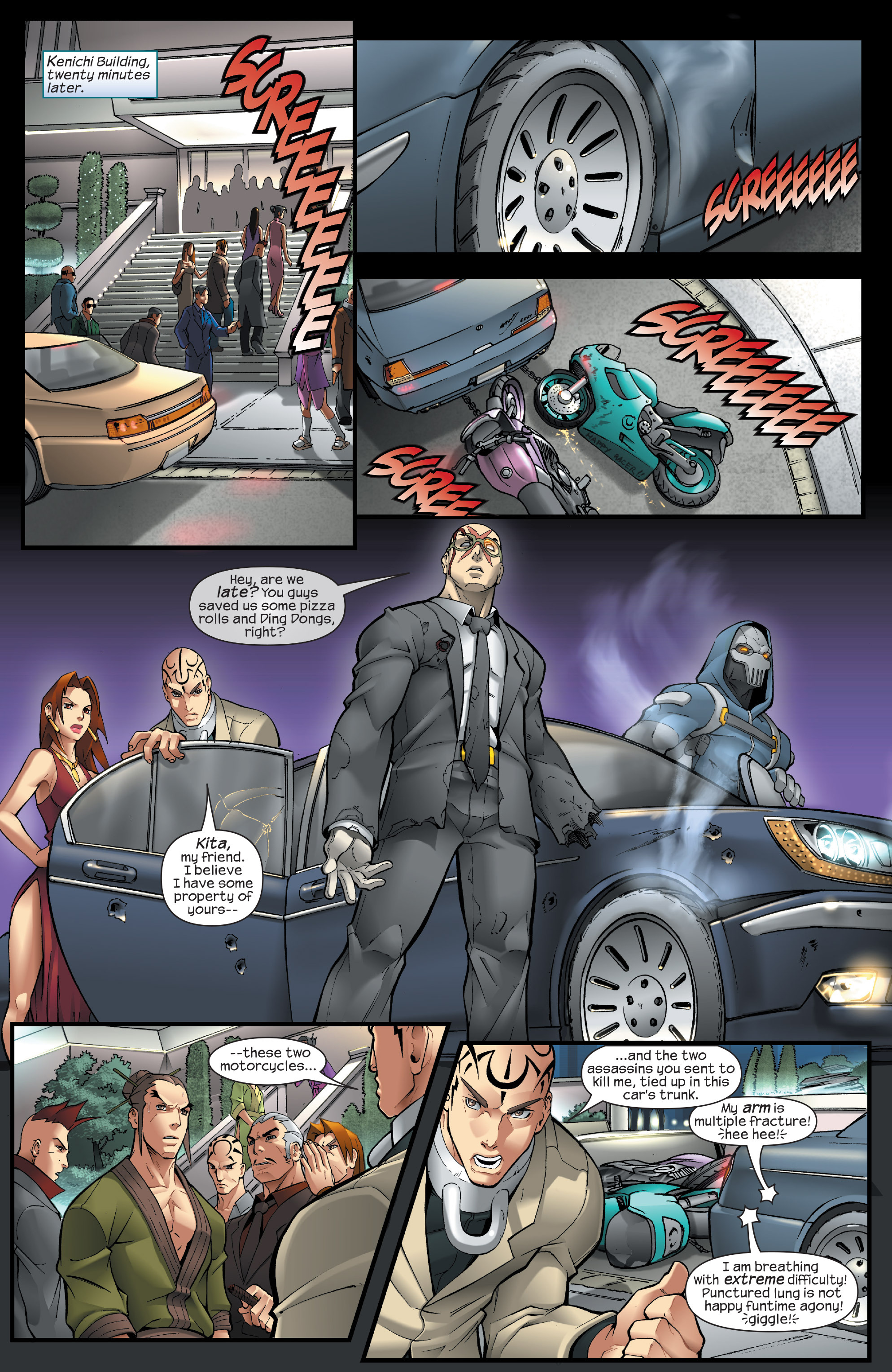 Read online Agent X comic -  Issue #13 - 19