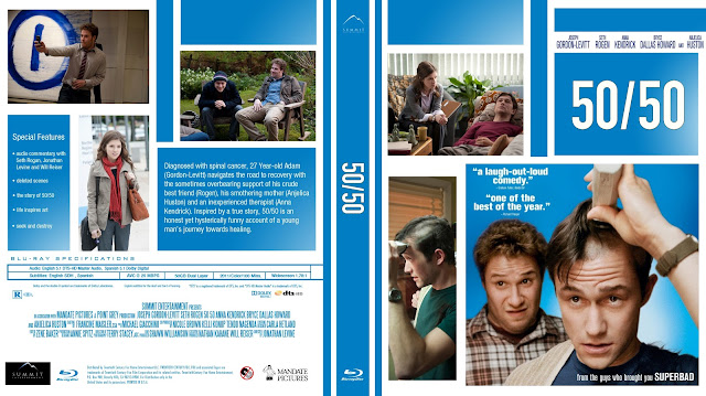 50/50 Bluray Cover