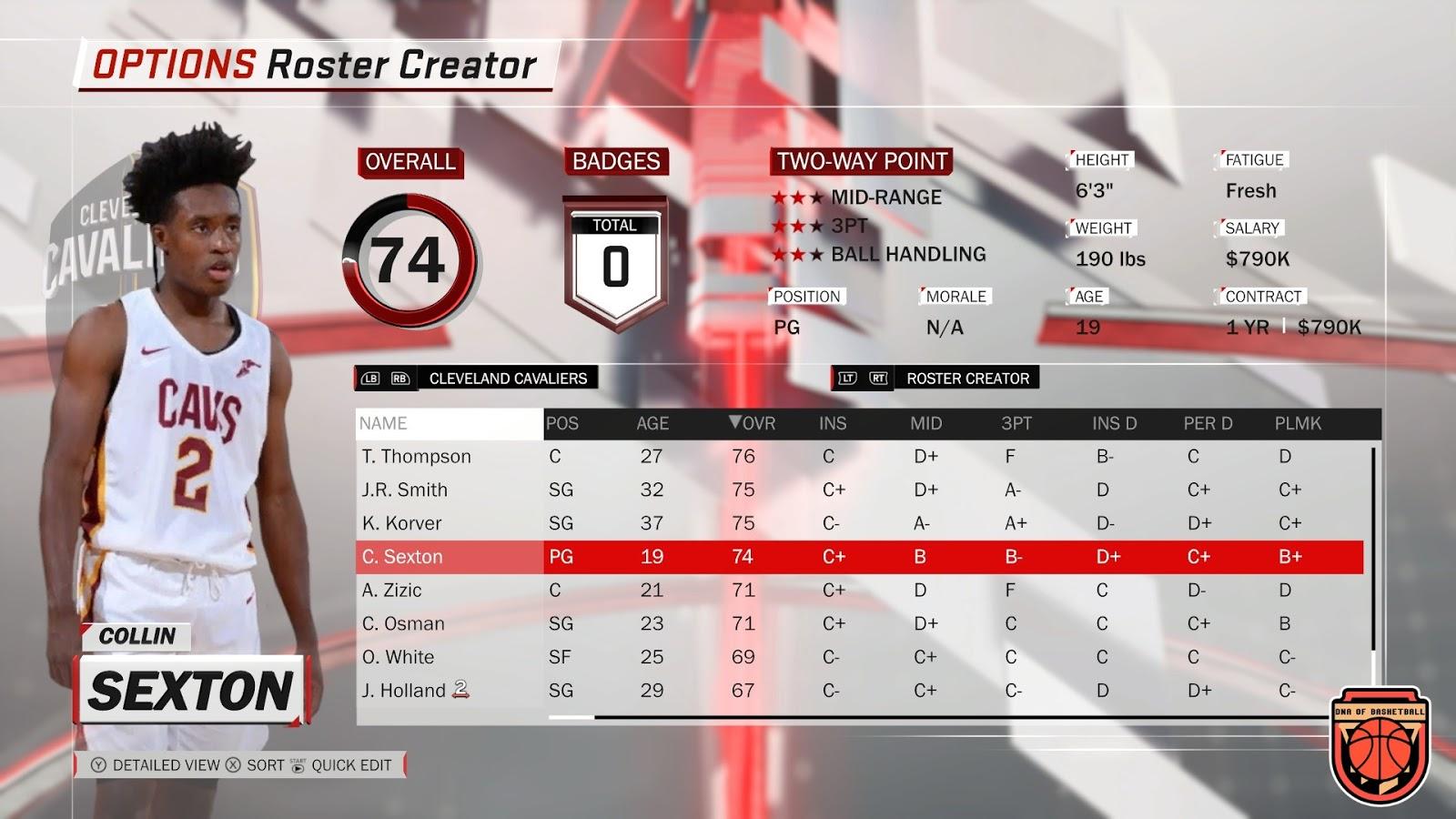 Shuajota | Your Videogame to the Next Level: NBA 2K18 DNA