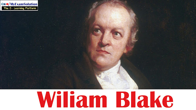 william blake, Idea of Poetry, Romantic Period, Songs of innocence and experience, my exam solution, myexamsolution.com,