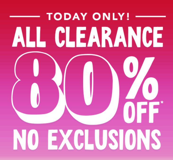 17e1d0d15a6b The Children s Place is currently having a great sale online where clearance  items are 80% off