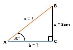 menghitung panjang sisi segitiga jika diketahui besar sudutnya