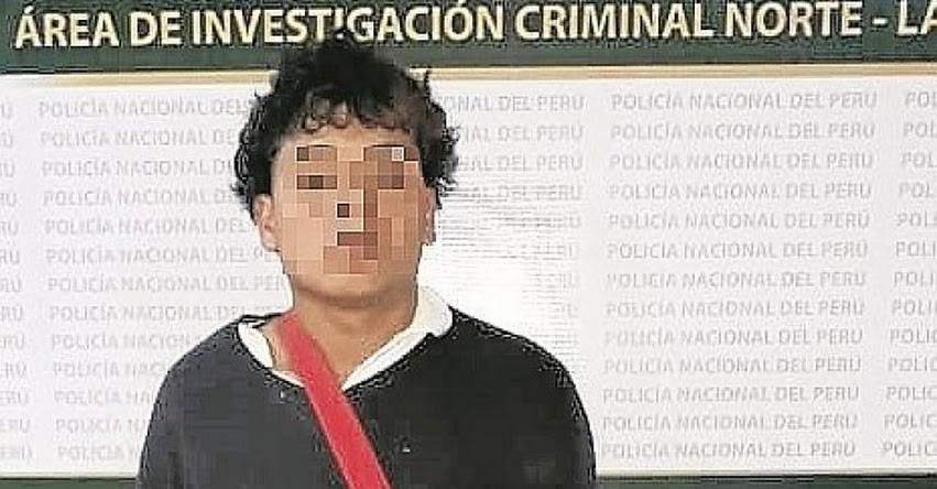 Capturan a escolar que conformaba banda de extorsionadores en Trujillo