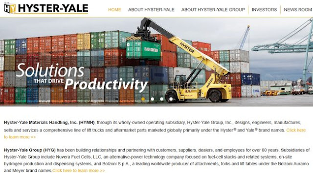 Hyster Forklifts: Hyster-Yale Materials Handling, Inc