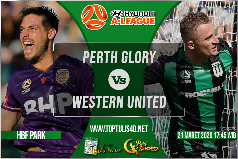 Prediksi Perth Glory vs Western United 21 Maret 2020