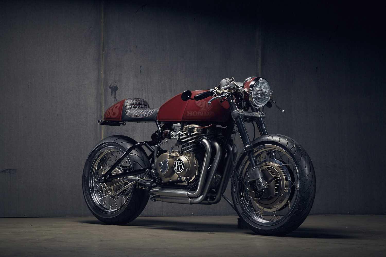 Honda CB400F Modern Cafe Cacer