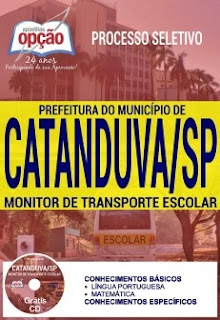 Apostila Concurso Prefeitura de Catanduva 2017