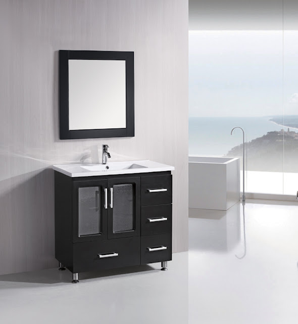 36 inch Contemporary Bathroom Vanity