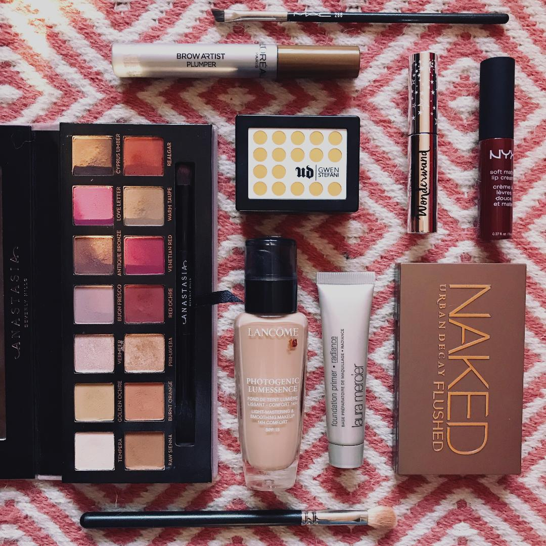 Anastasia Beverly Hills Modern Renaissance Eye Shadow Palette Kuas Mascara Review And Makeup Look