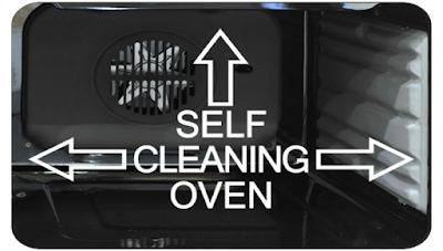 Chức năng tự làm sạch của lò nướng Faster