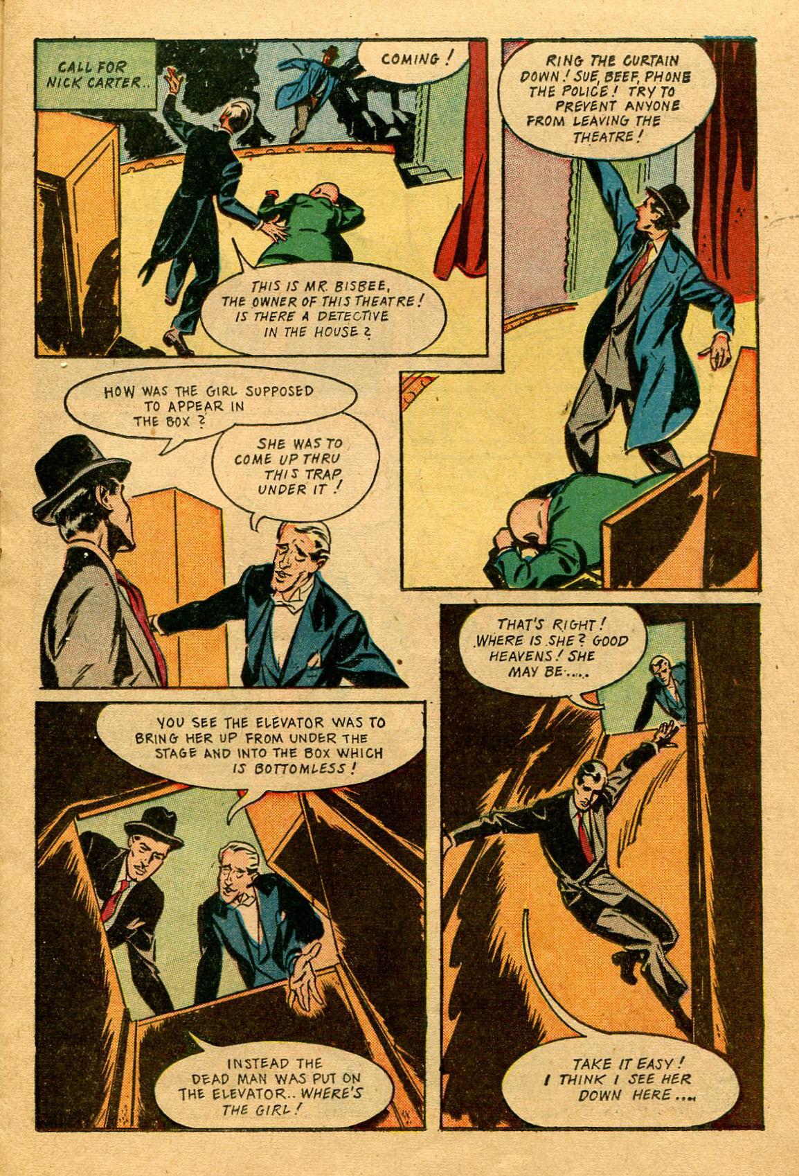 Read online Shadow Comics comic -  Issue #53 - 20