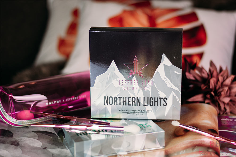 Jeffree Star Cosmetics Northern Lights Supreme Frost Pro Palette Titelbild