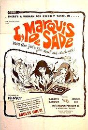 I, Marquis de Sade 1967