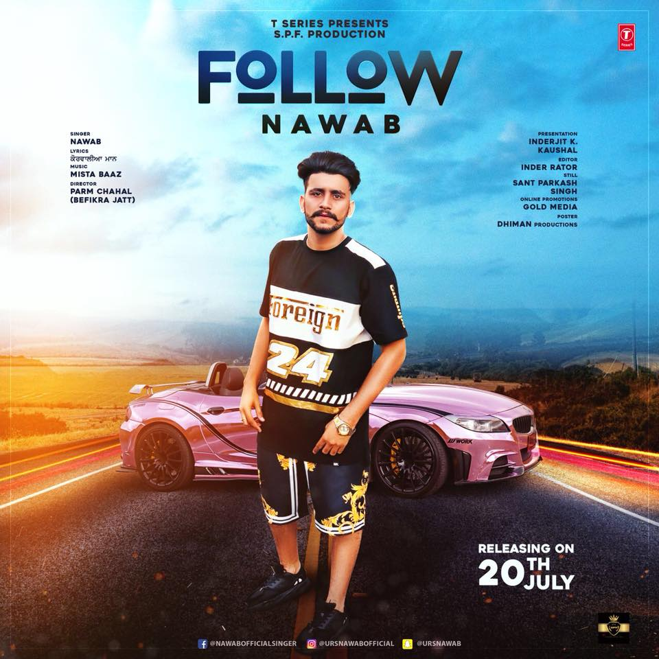 Nawab New Song Follow Lyrics