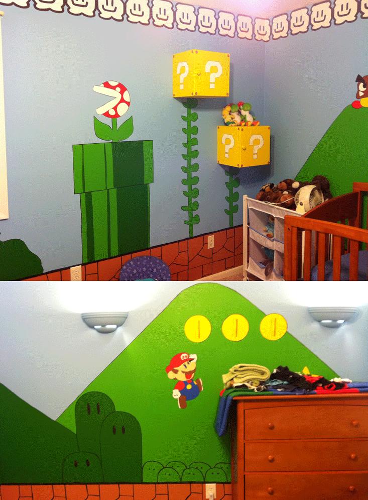Room Design Online Games: Kids Video Game-Themed Rooms
