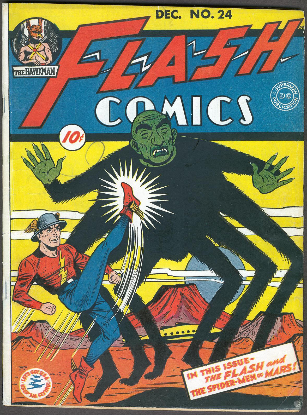 Flash Comics 24 Page 1