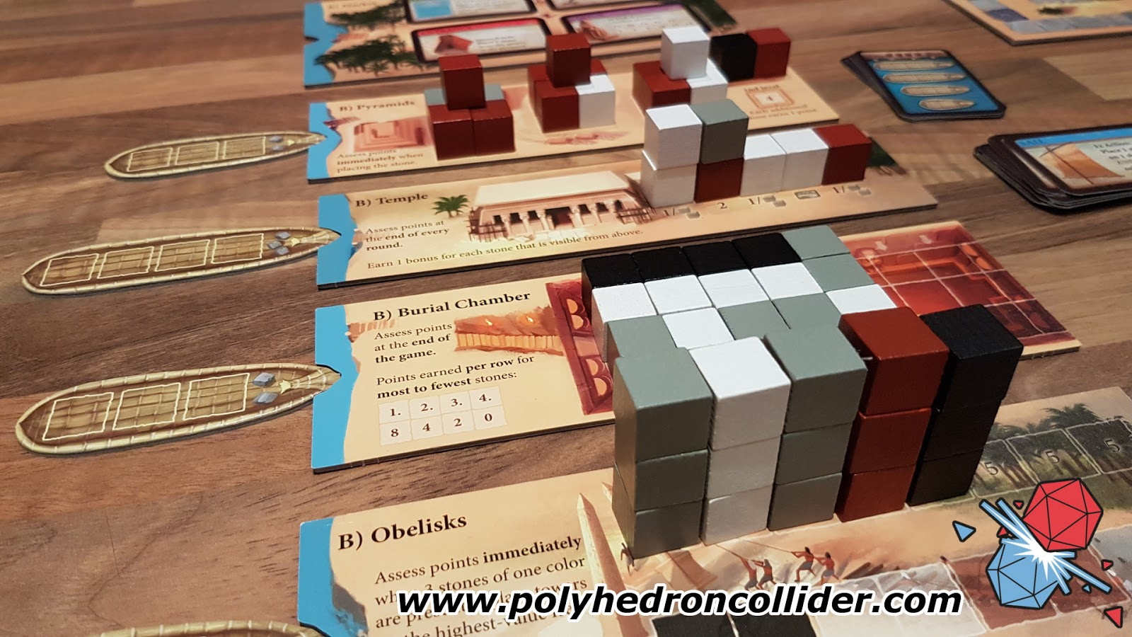 imhotep board game review building
