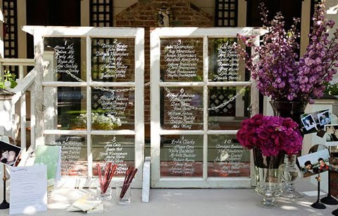 Life Designed DIY Wedding Seating Chart