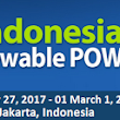 Event - Indonesia Renewable Power Summit 2017: Partnering Investment, Technology and the FIT for Capacity Growth