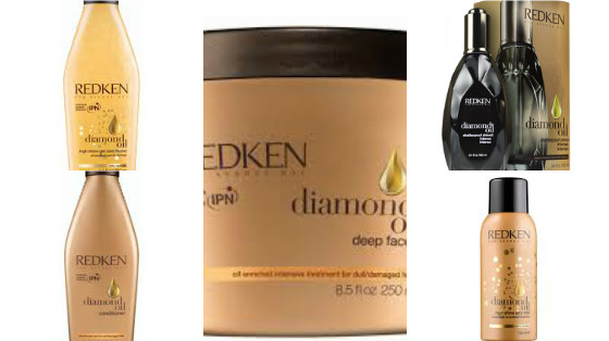 diamond oil redken low poo