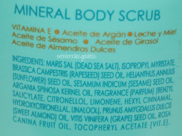 exfoliante corporal mineral mercadona