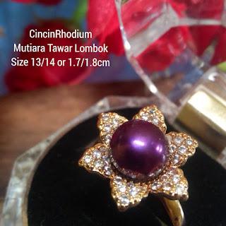 Cincin Mutiara Lombok