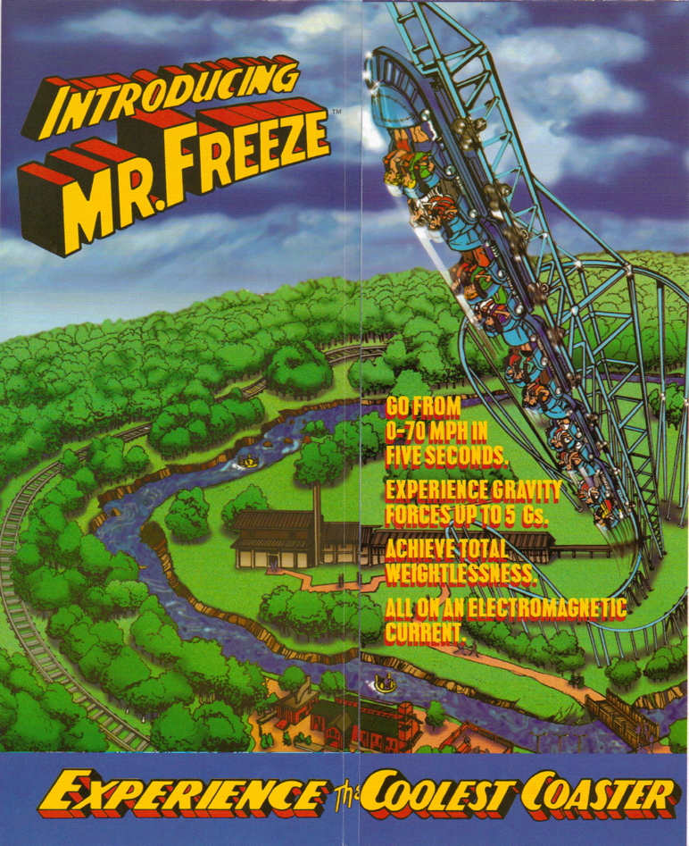 newsplusnotes from the vault six flags st louis 1997 brochure