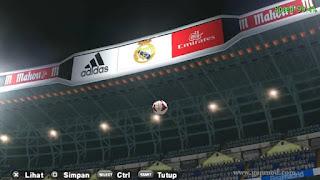Texture Santiago Bernabéu for PES PSP Android