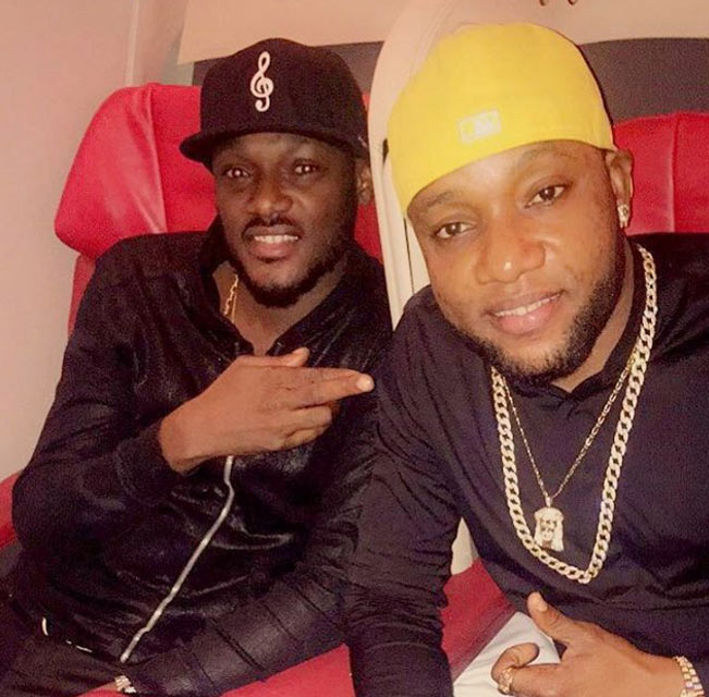 Kcee and 2face meet on flight heading to New York