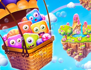 Play Cartoon Candies Puzzle Online Games