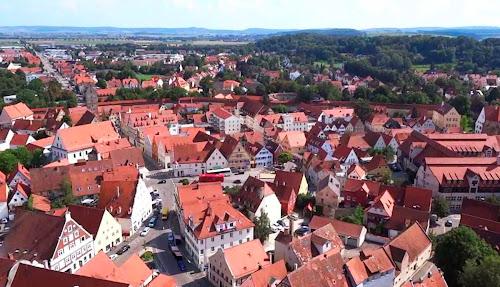 Nordlingen city - Germany