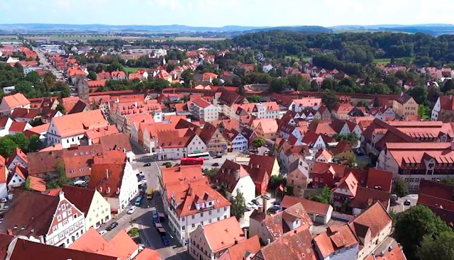 Nordlingen city - Germany