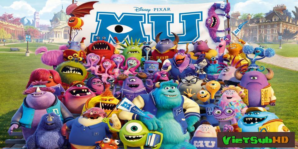 Phim Lò Đào Tạo Quái Vật VietSub HD | Monsters University 2013