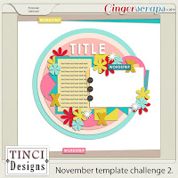 November Template Challenge2 by Tinci Designs