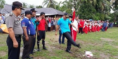 Dibuka Wako Mahyeldi, SMA Negeri 16 Padang Helat Liga Berkelas