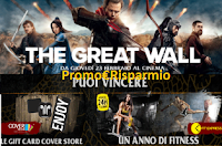 Logo The Great Wall e Uci ti fanno vincere Gift card e un viaggio a Pechino