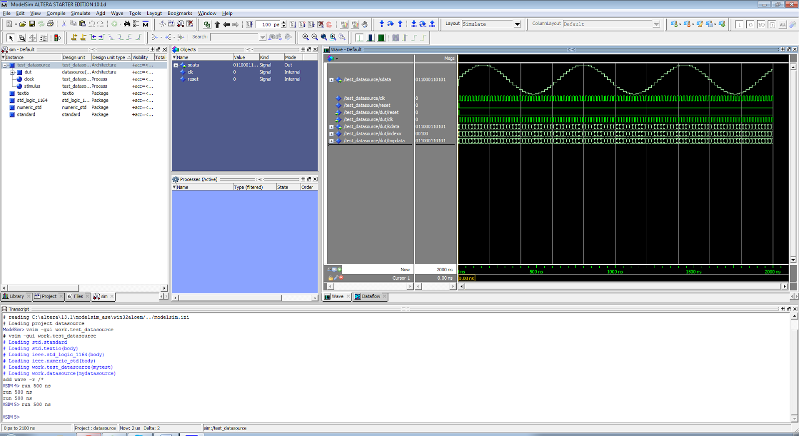 SDR with BladeRF: ModelSim testbench is the perfect companion for