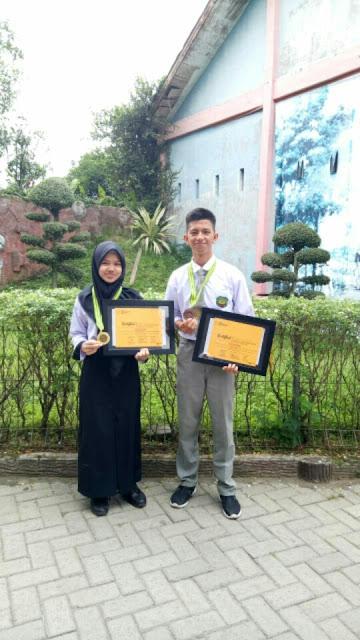 Dua Pelajar SMA Tunas Pelita Harumkan Nama Kota Binjai, Raih Juara I Dan III Lomba Esai Ilmiah Tingkat Nasional