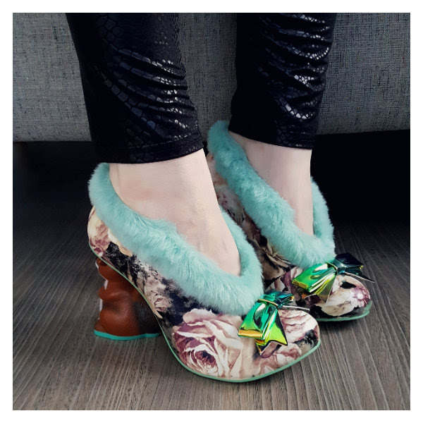 wearing irregular choice furry o nutty