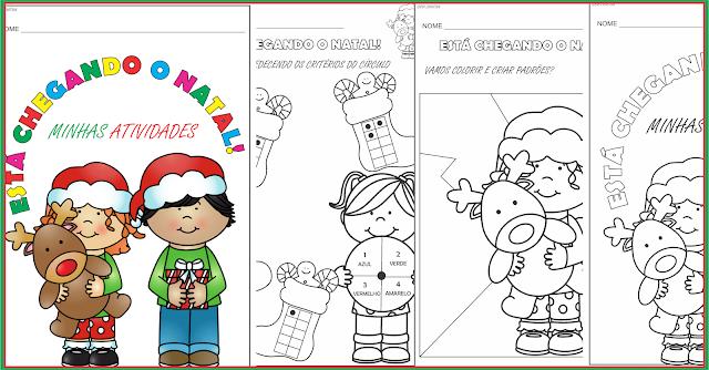 Caderno de Atividades Está Chegando O Natal
