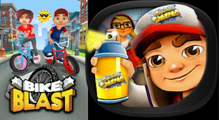 Subway Surfers VS Bike Racing