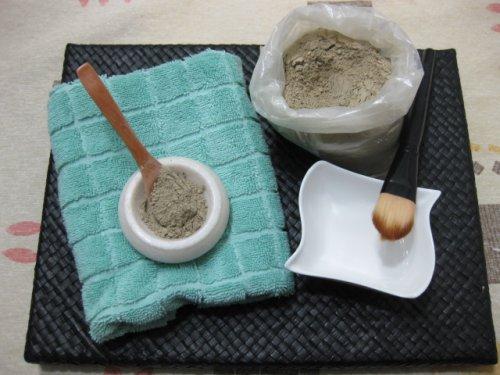 Masque vert pour lutter contre les imperfections cutanées