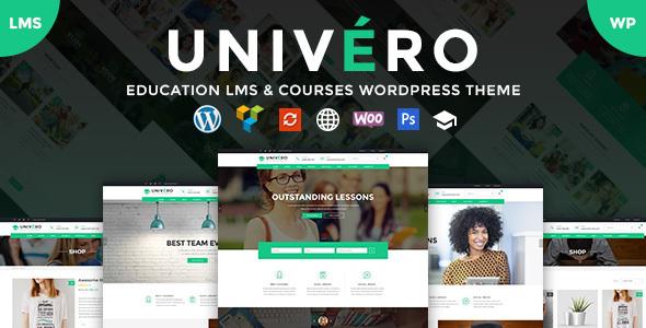Univero v1.0.0 - Education LMS & Courses