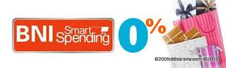 bni smart spending 0%