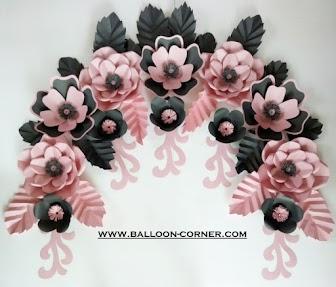 Paper Flower / Bunga Kertas (Paket Bunga Sakura 01)